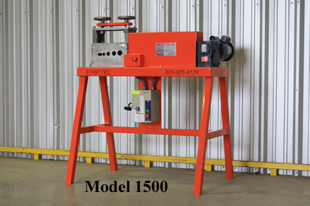 Strip-tec model a manual wire stripper